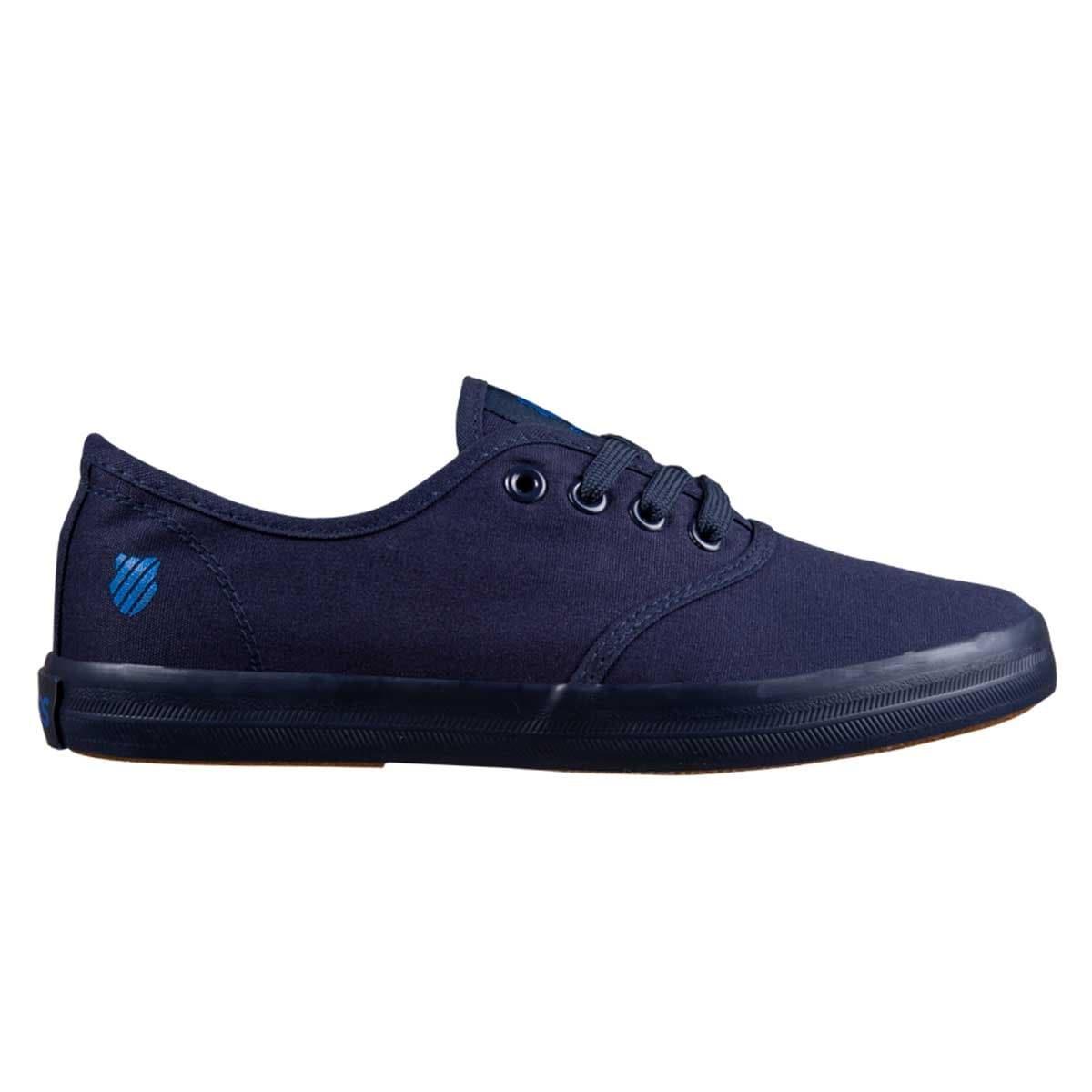 Tenis Azul Textil con Agujeta K Swiss