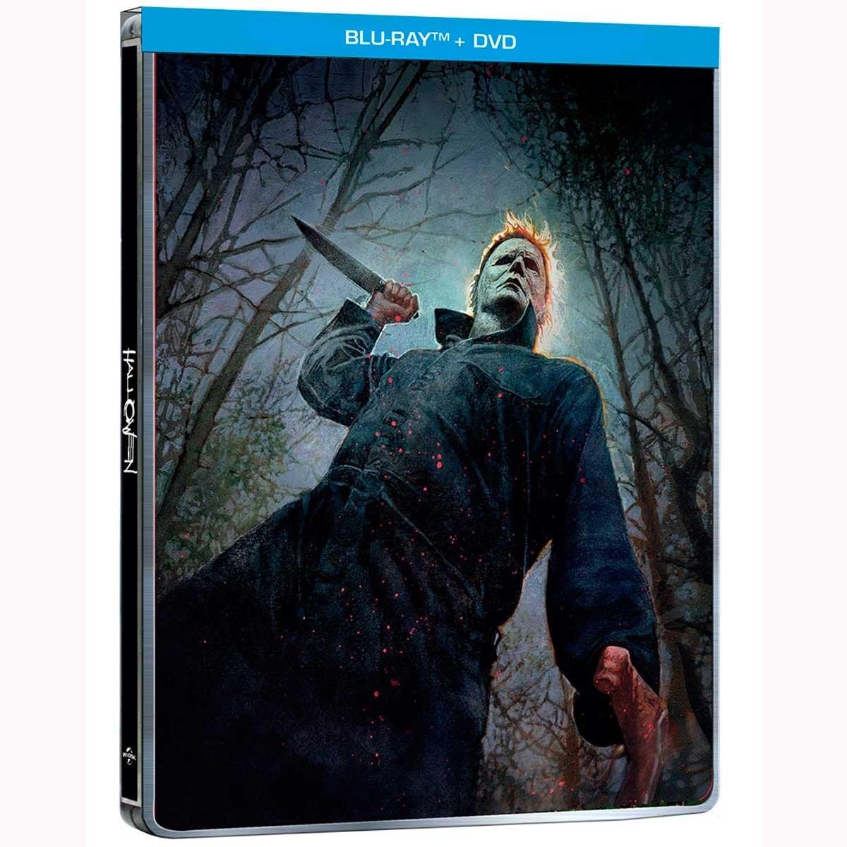 Blu Ray + Dvd Steelbook Halloween