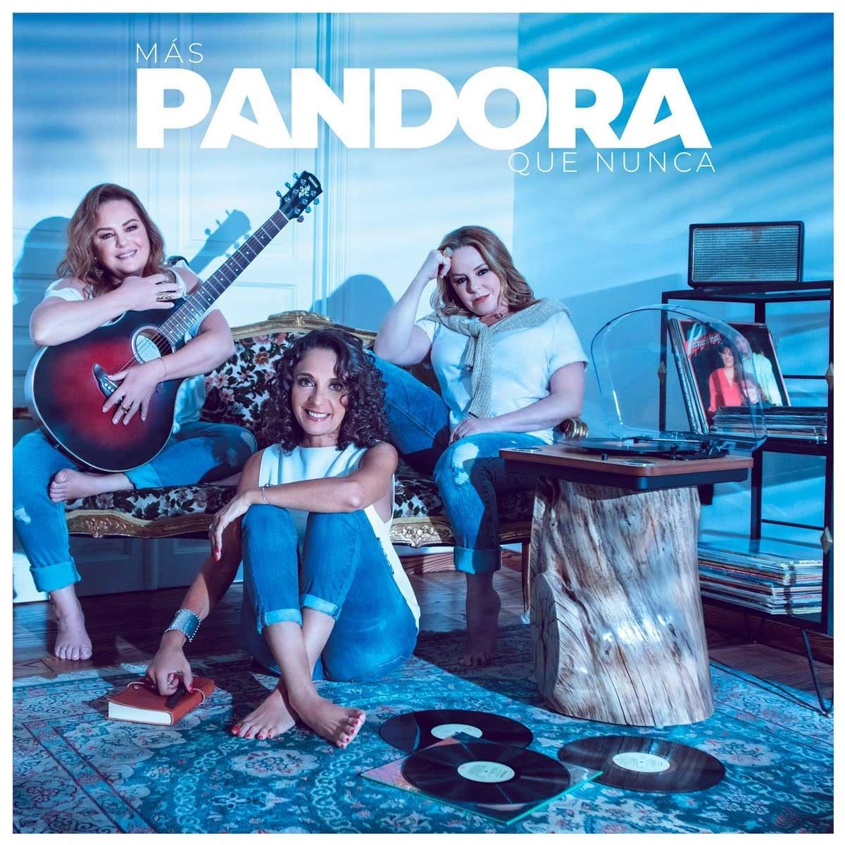 Cd + Dvd Pandora Más Pandora Que Nunca