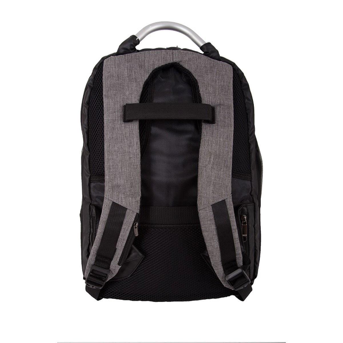 "Mochila Tipo Back Pack Safe 15"" Lock Portalaptop Puerto Usb Smart Gear Planeta"