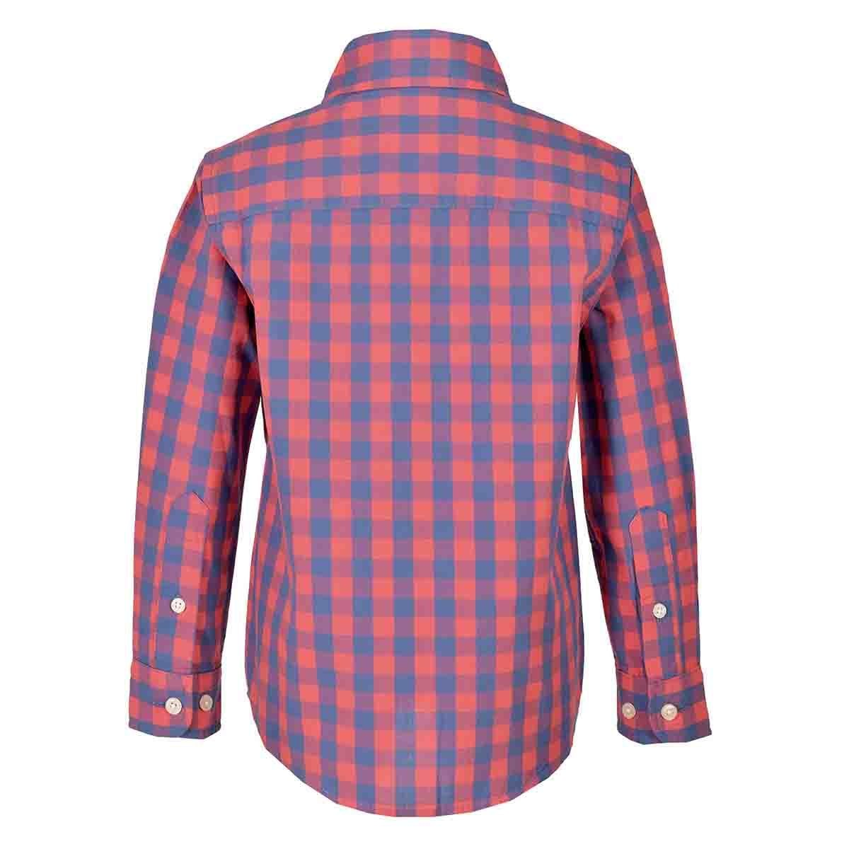 Camisa Manga Larga Gingham Jeanious