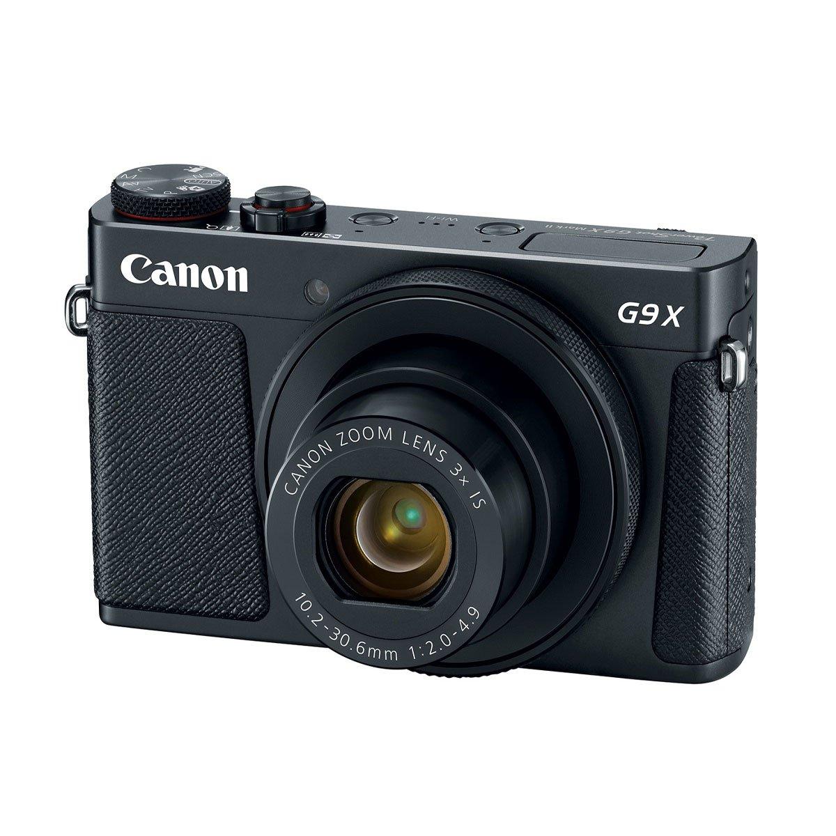 Cámara Canon 20.1 Mp G9X Markii Negro