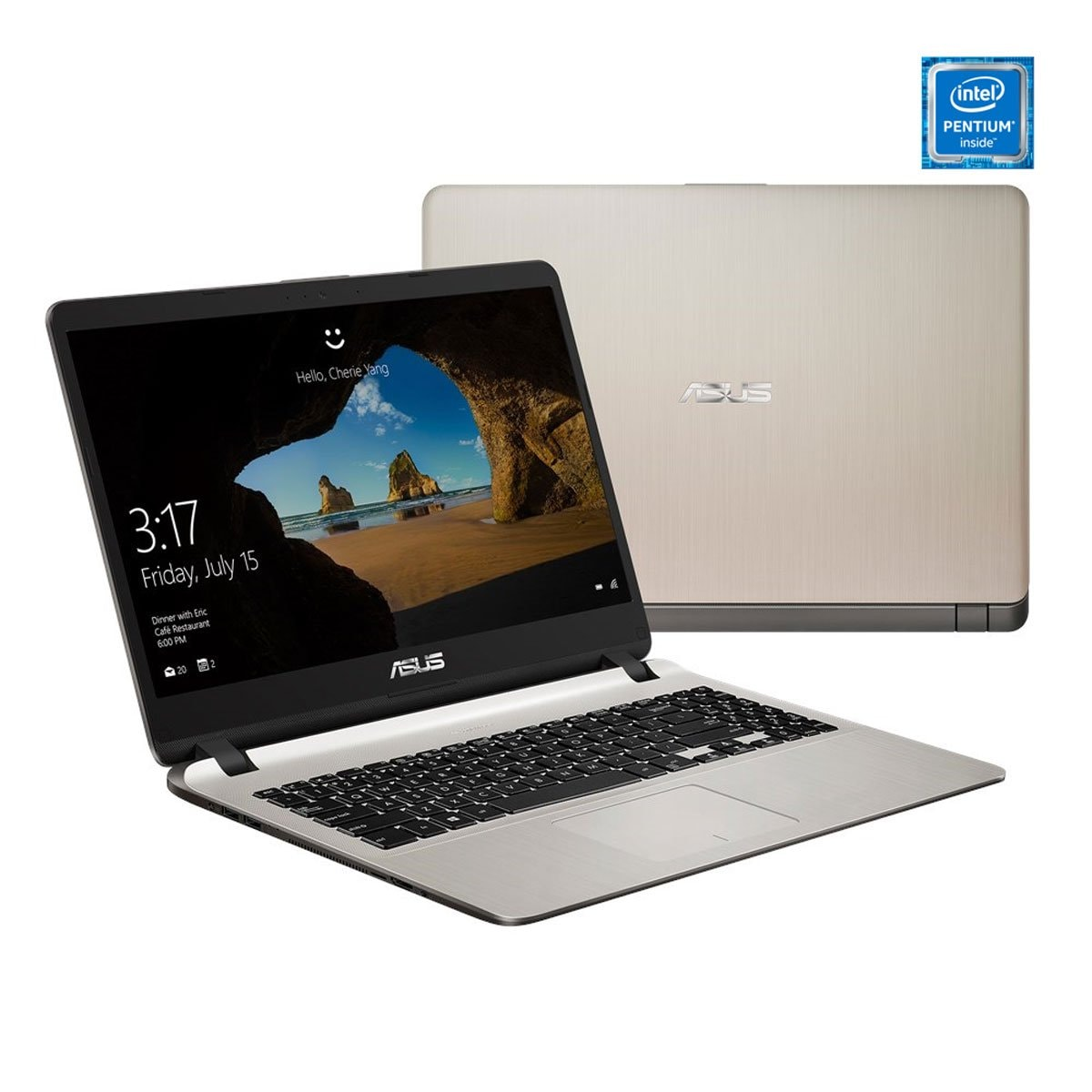 Laptop X507Ma-Br005T Dorada Asus