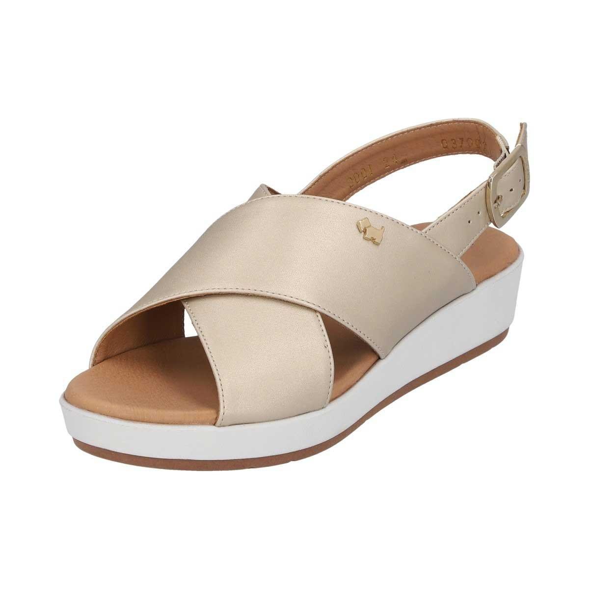 Sandalia de Tiras Cruzadas Ferrioni