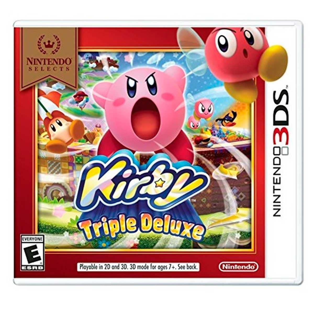 Nintendo 3Ds Kirby Triple Ns