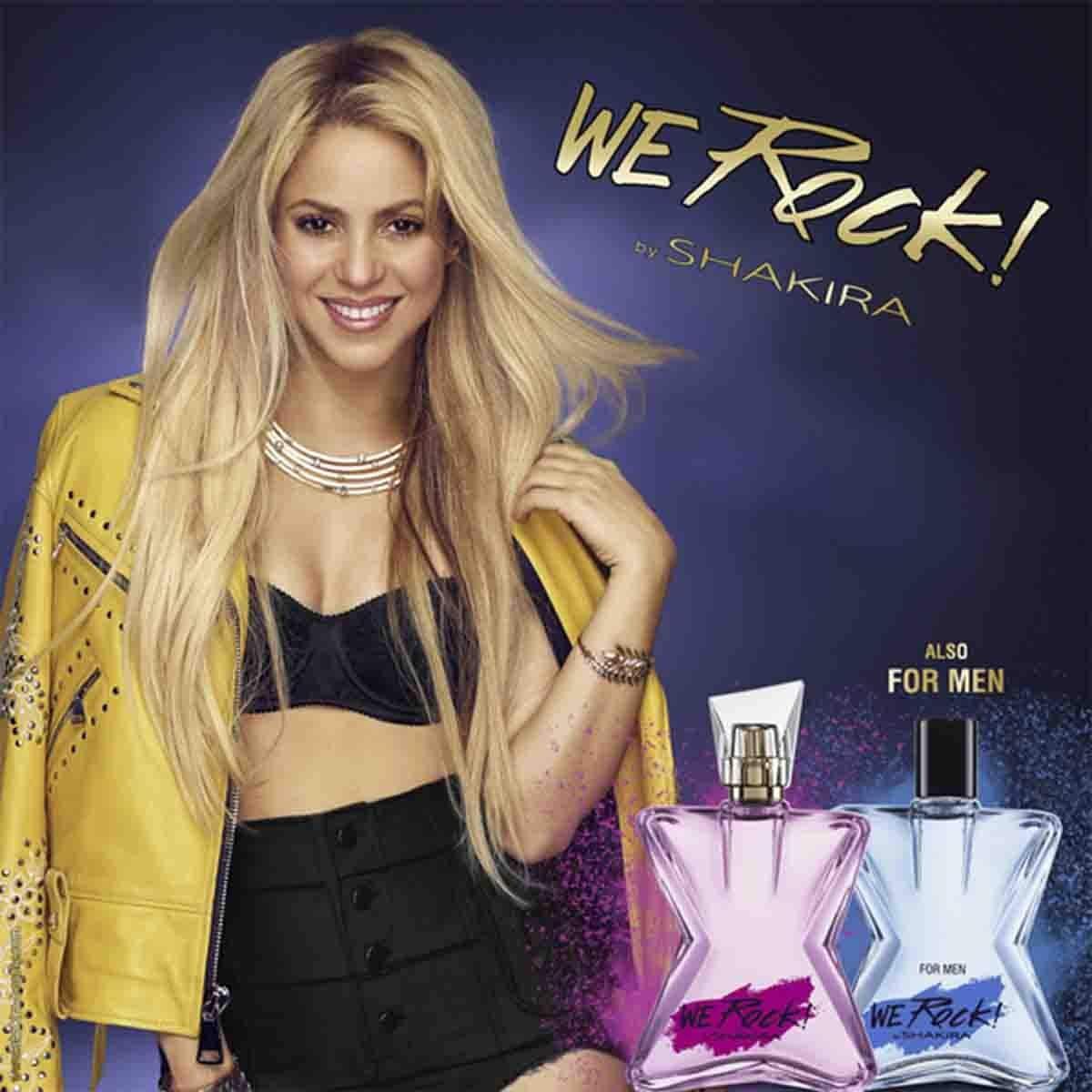 Fragancia para Caballero, Shakira We Rock! For Him Edt 80Ml