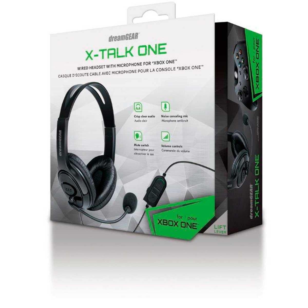 Xbox One  Headset X-Talk Negro Dreamgear