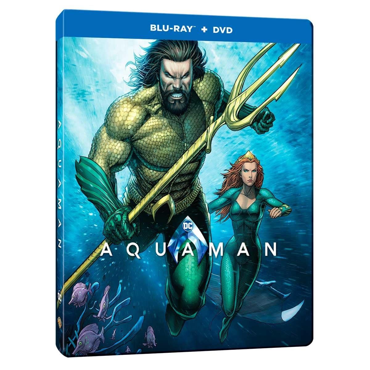 Blu Ray Steelbook Aquaman