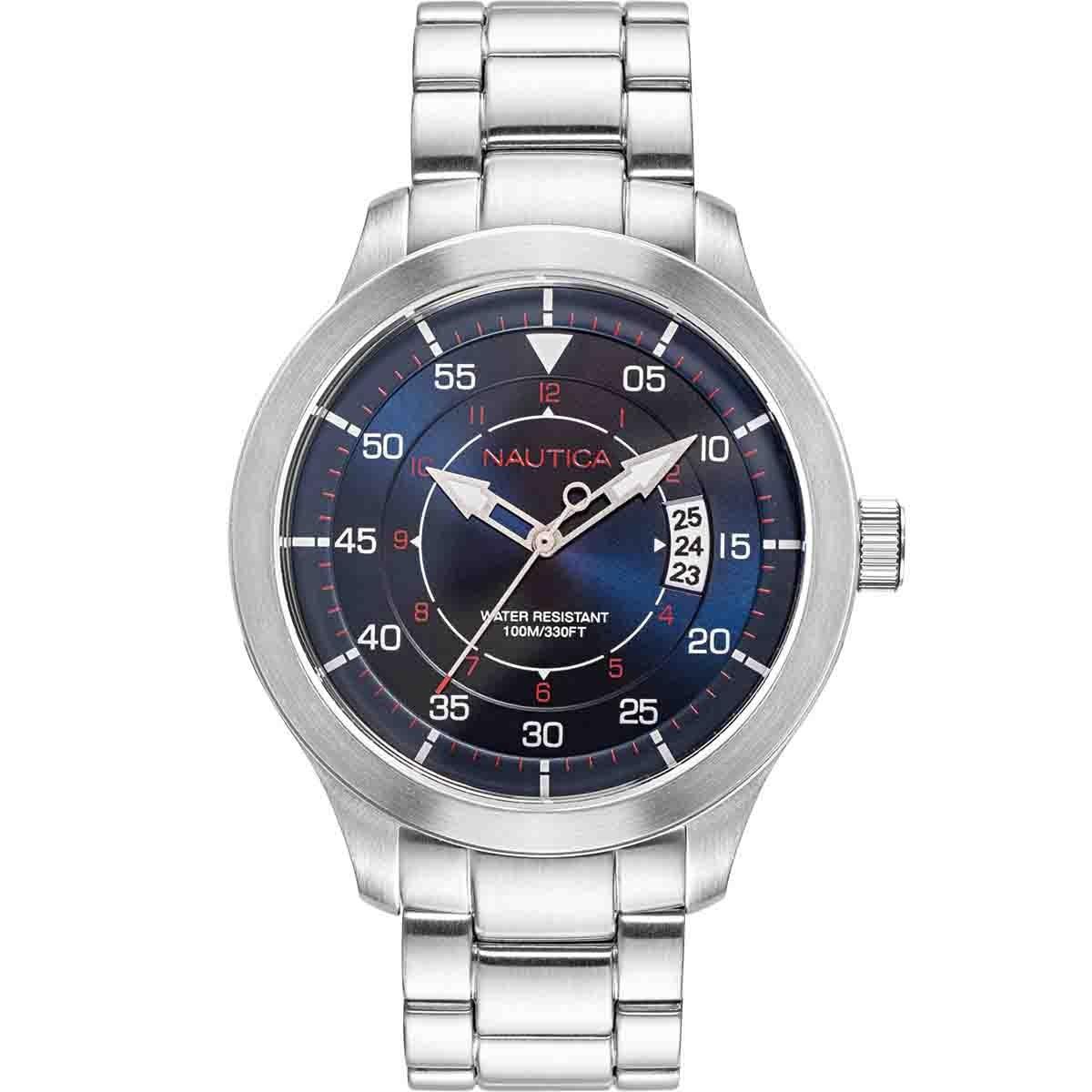 Reloj para Caballero Color Plata Nautica
