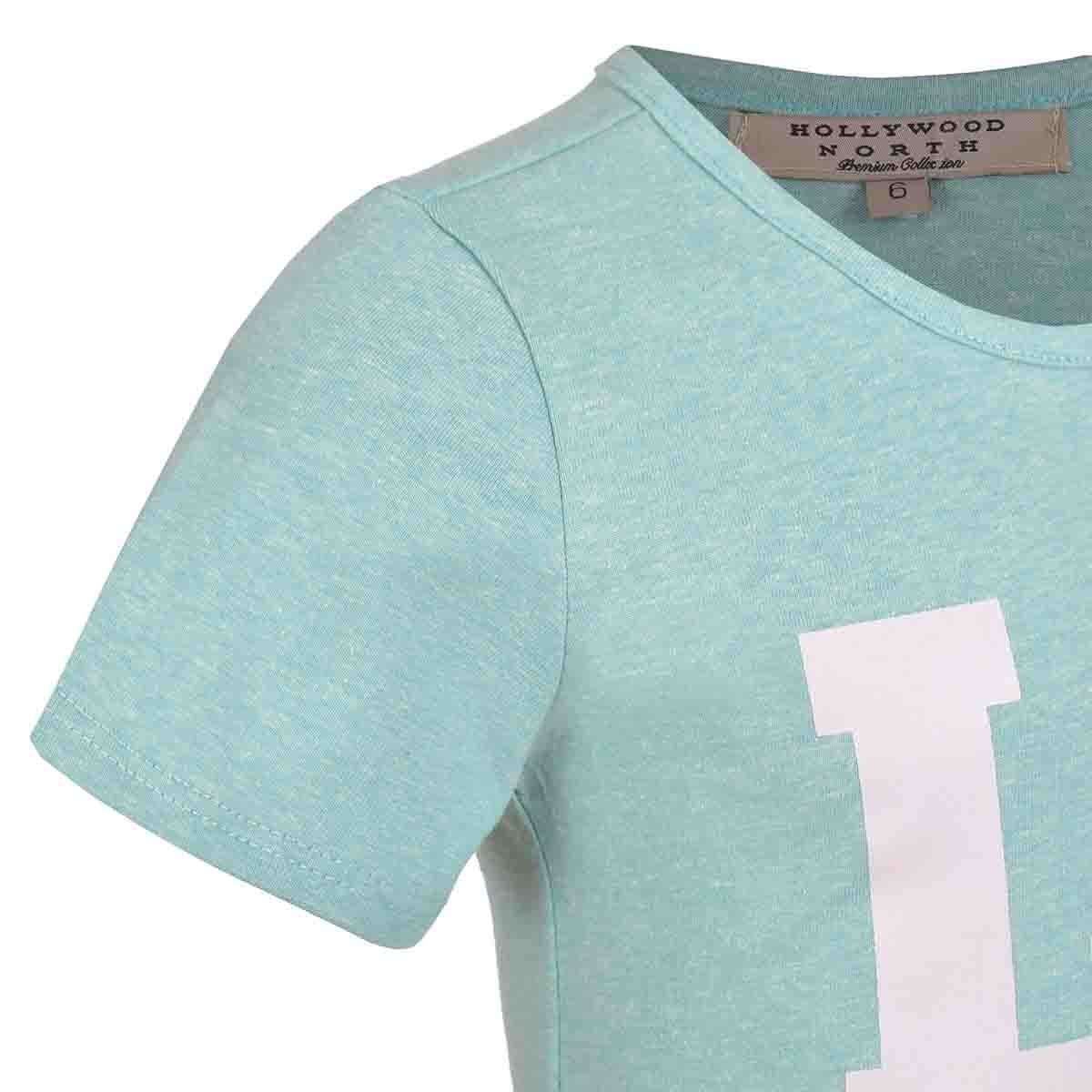 Playera Estampada para Niña Hollywood North