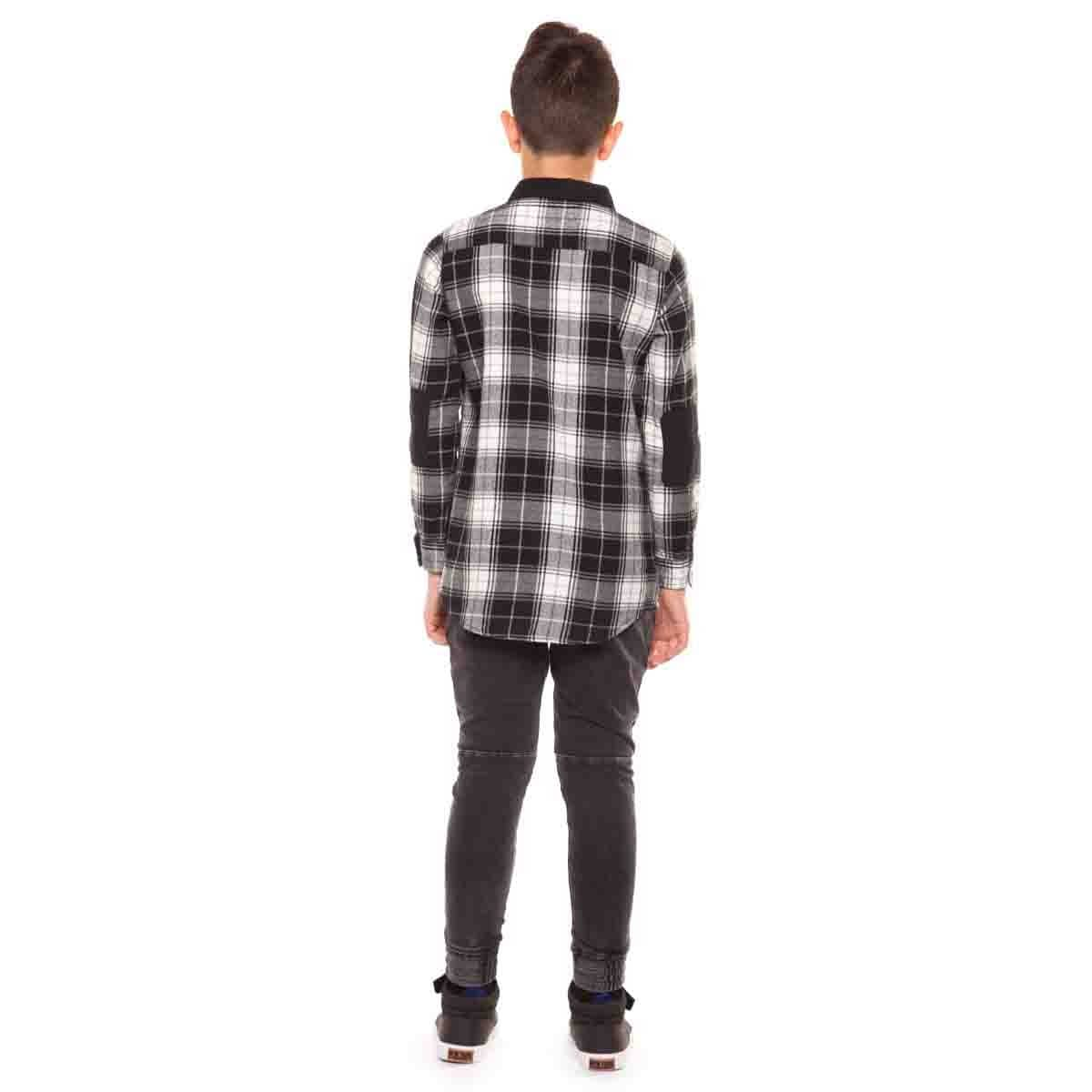 Camisa Manga Larga de Franela Dex