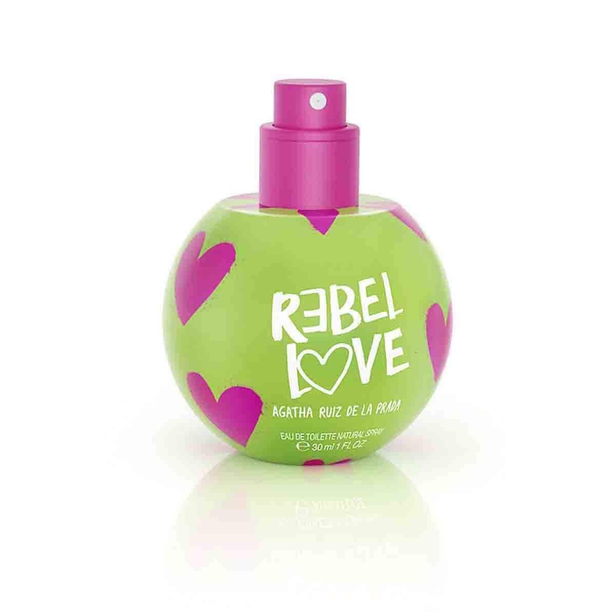 Fragancia para Dama, Agatha Ruiz de la Prada Rebel Love Bubble Edt 30Ml