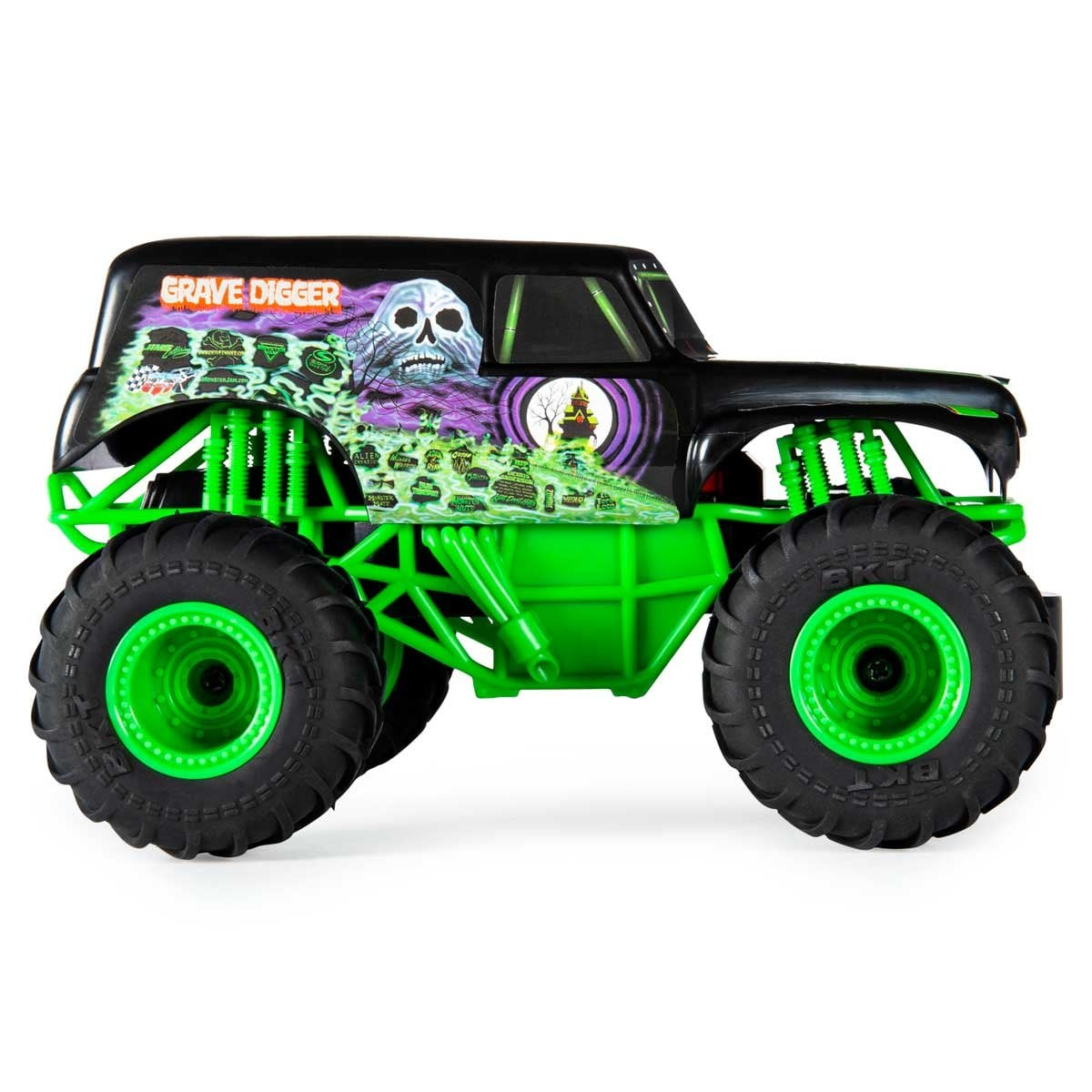 Monster Jam Rc 1:24 Grave Digger Spin Master