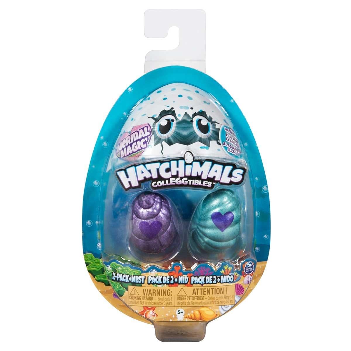 Hatchimals Coleccionables 2 Figuras + Nido  Spin Master