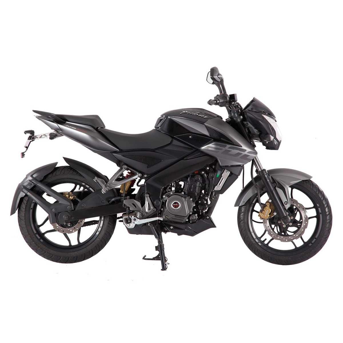Motocicleta Pulsar Ns 200 Cc Negra Bajaj