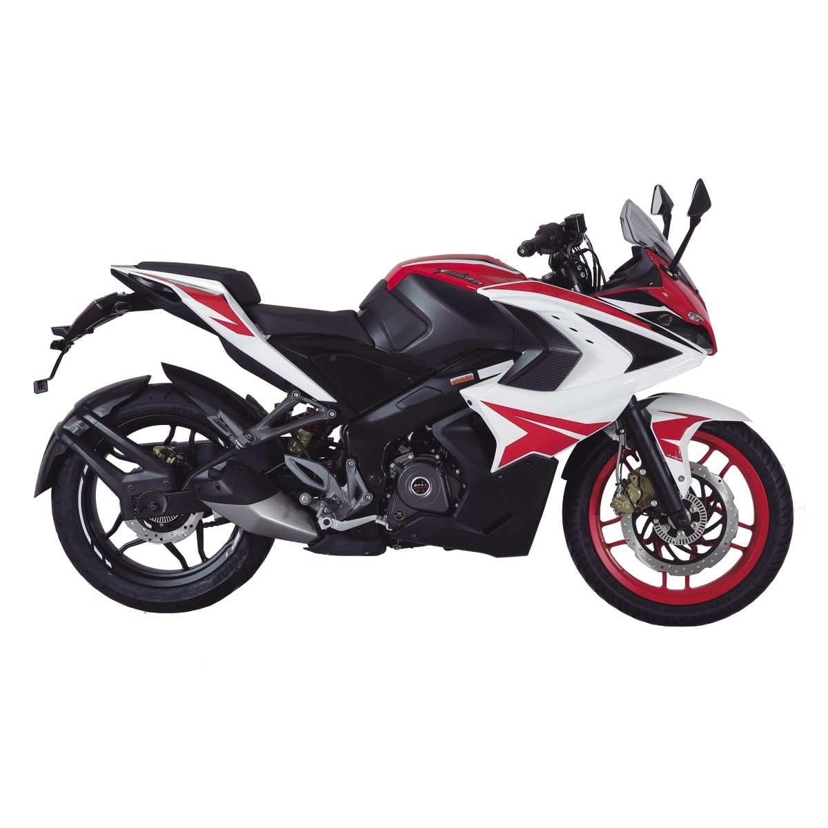 Motocicleta Pulsar Rs 200 Cc Roja Bajaj