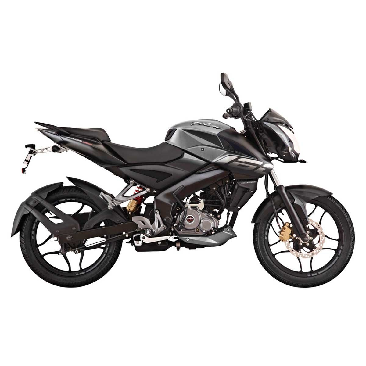 Motocicleta Pulsar Ns 160 Cc Gris Bajaj