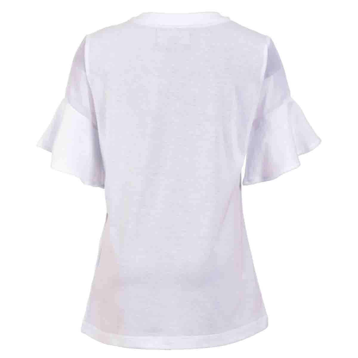 T-Shirt Manga Corta con Olan Royal Polo Club para Niña
