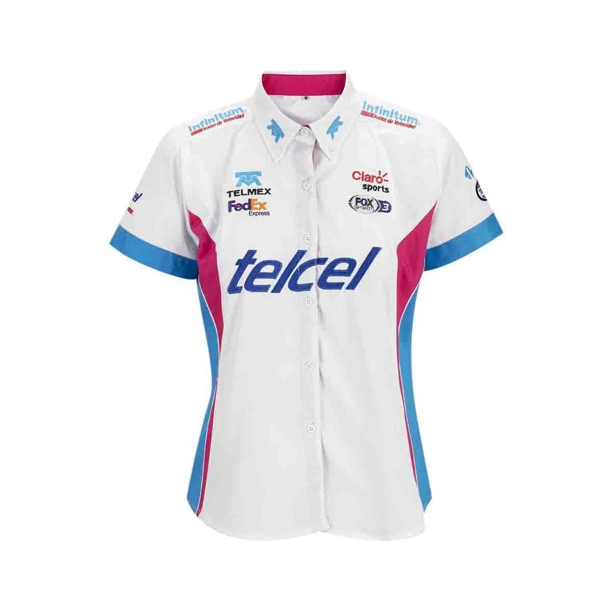 Camisa para Dama Escudería Telmex-Telcel 19
