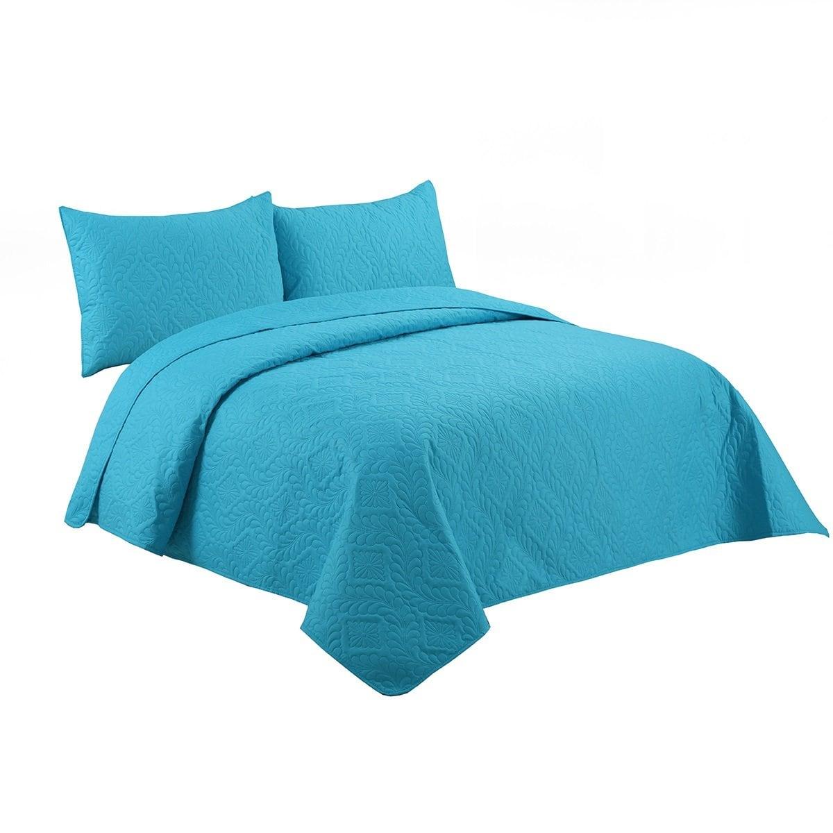 Edrecolcha Garlan Azul Home Nature - King Size