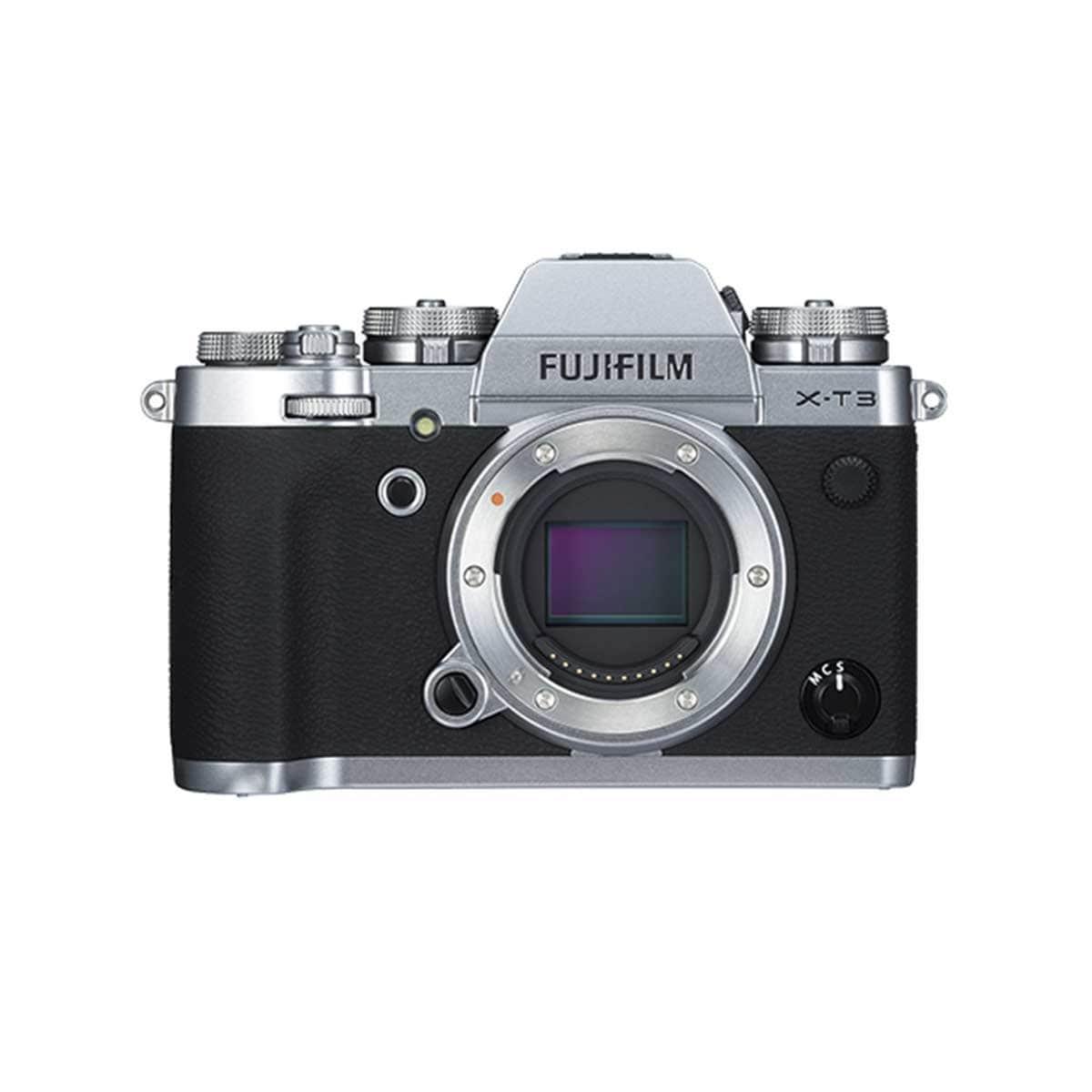 Cámara Fujifilm X-T3 Plata+ Xf18-55Mm