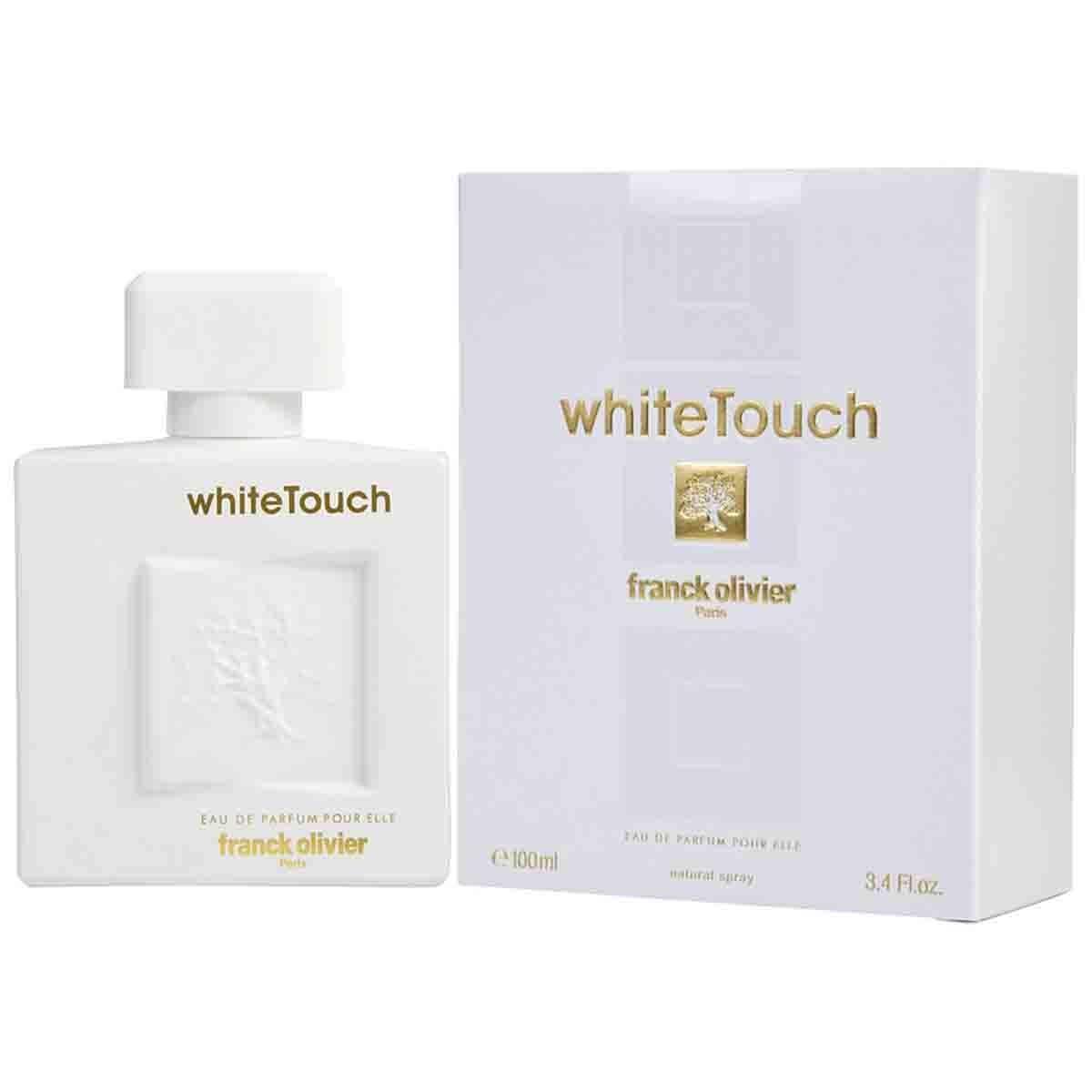 Fragancia para Dama White Touch Franck Olivier Edp 100 Ml