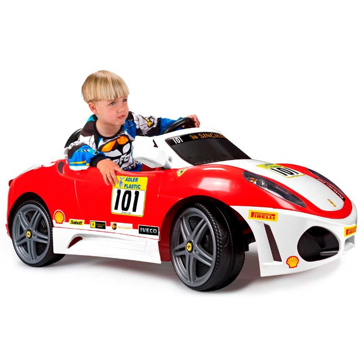 Ferrari F430 Challenge Blanco  Famosa