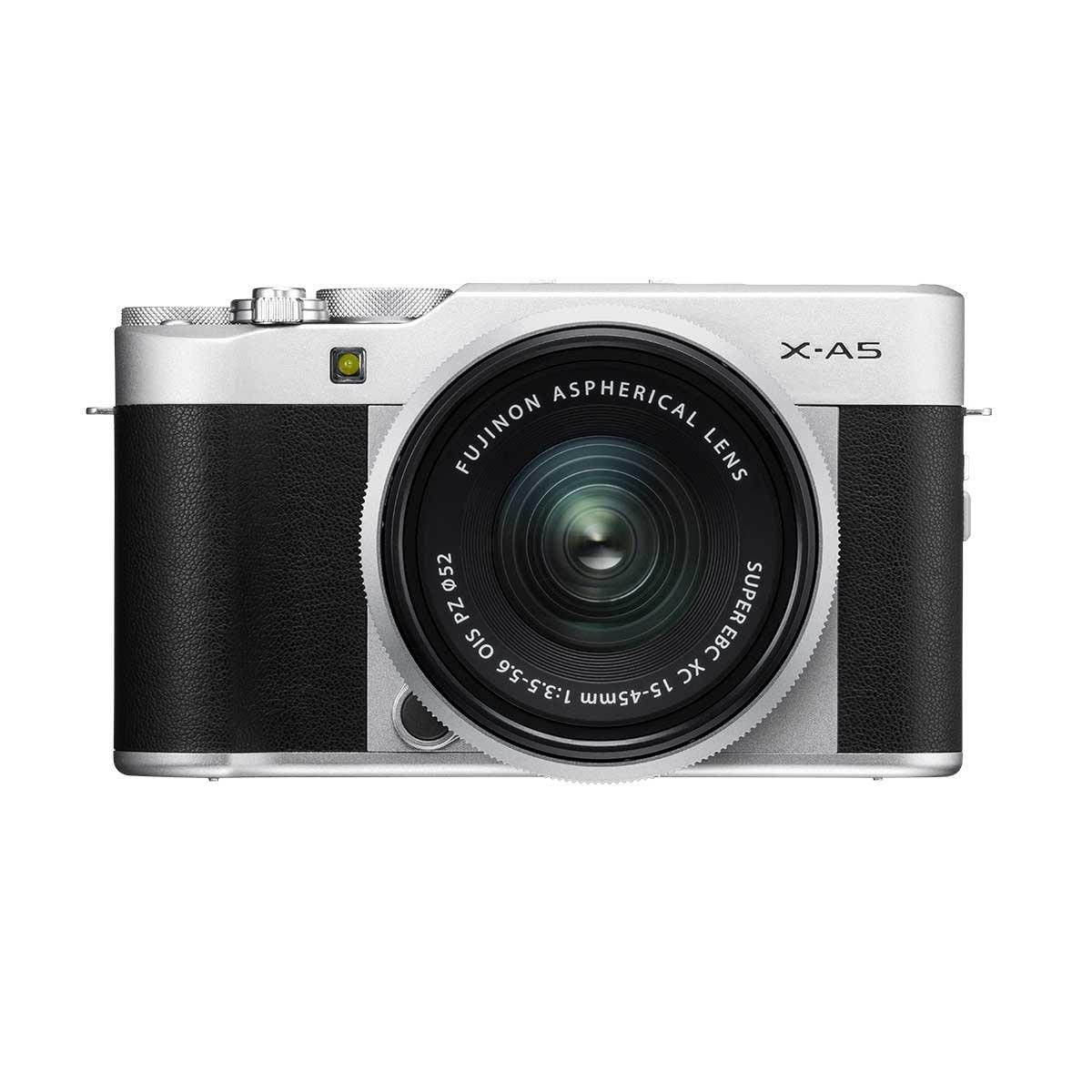 Cámara X-A5 Plata +Xc15-45Mm S Fujifilm