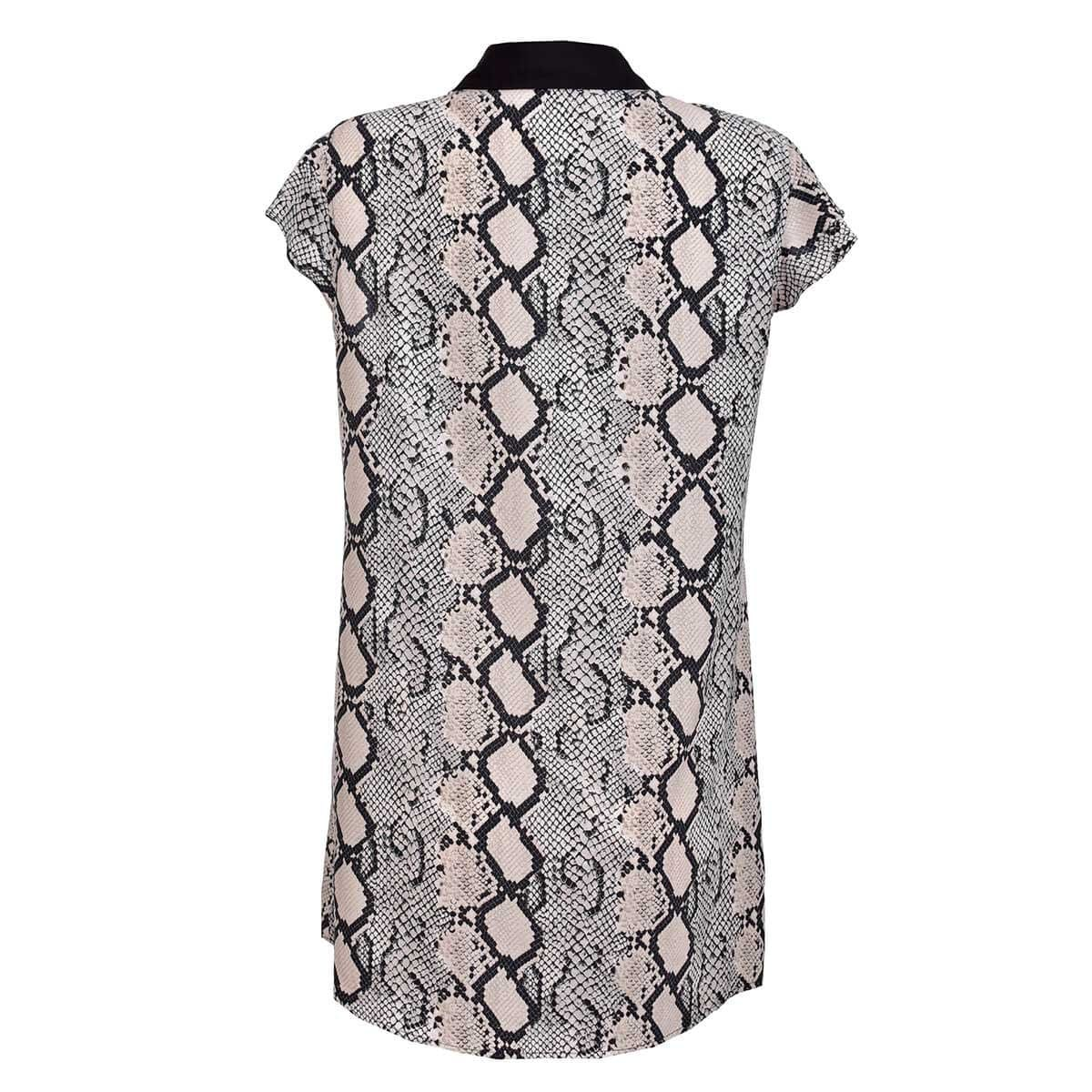 Blusa con Cinturón Estampado de Emily Philosophy Jr Woman