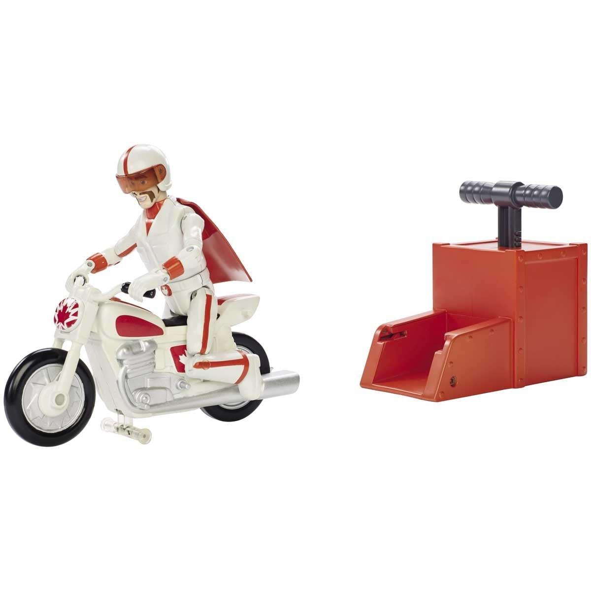 Toy Story  4  Acrobacias Canuck con Boom Boom Bike Mattel