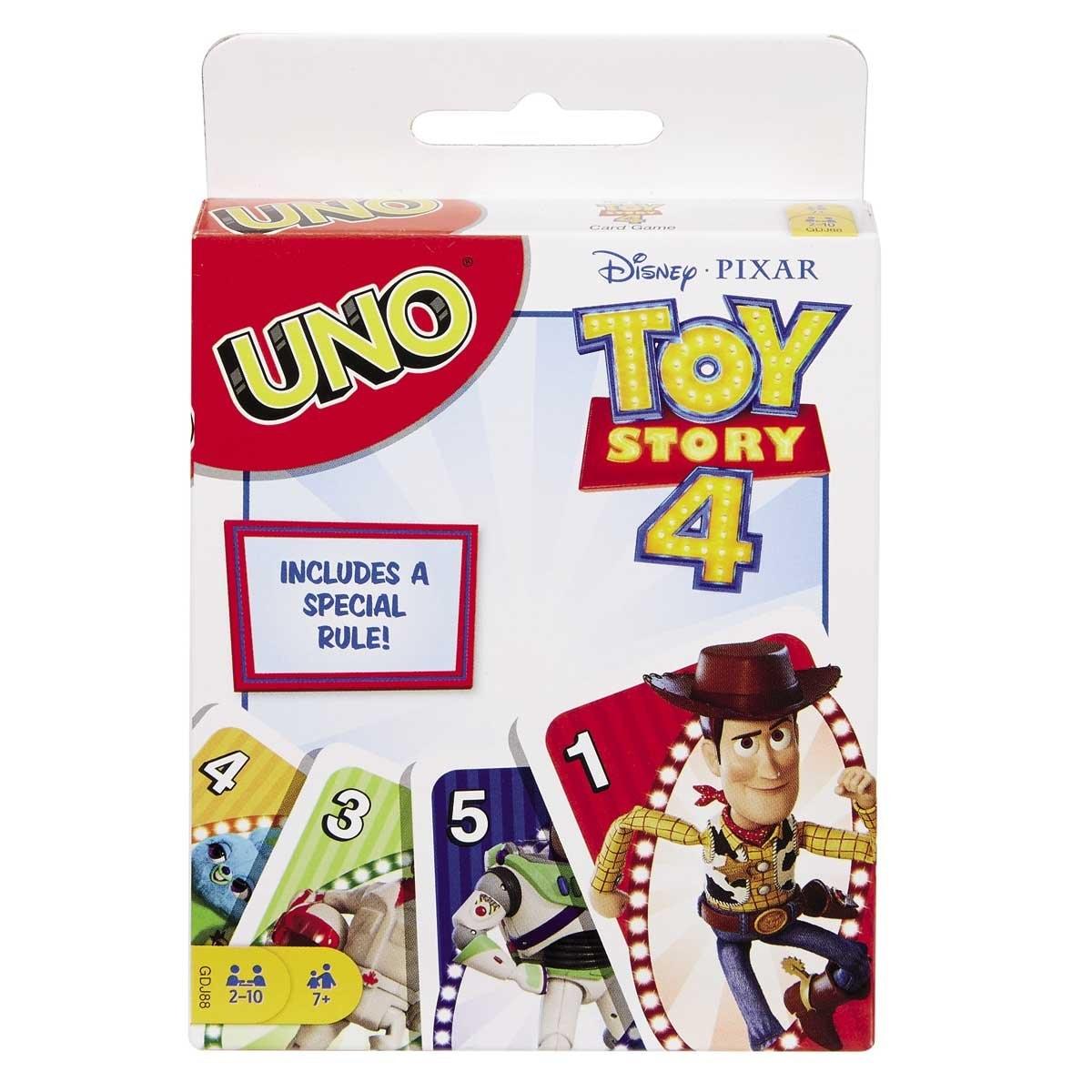 Juego de Mesa uno Toy Story 4  Mattel