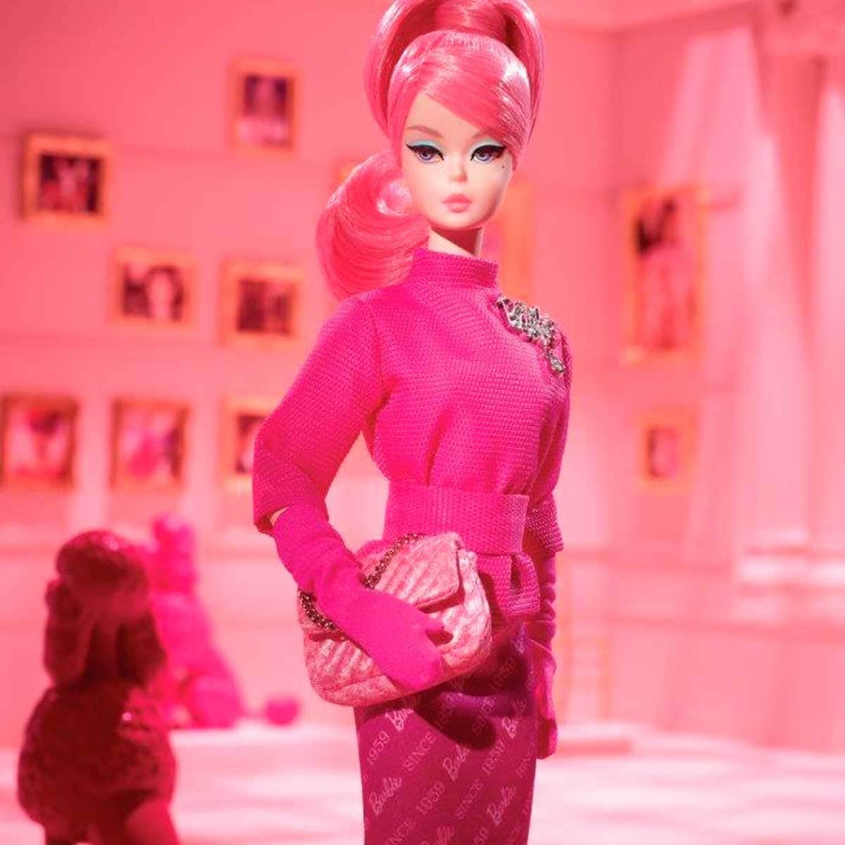 Barbie Bfmc Silkstone Pink (60Th) Barbie
