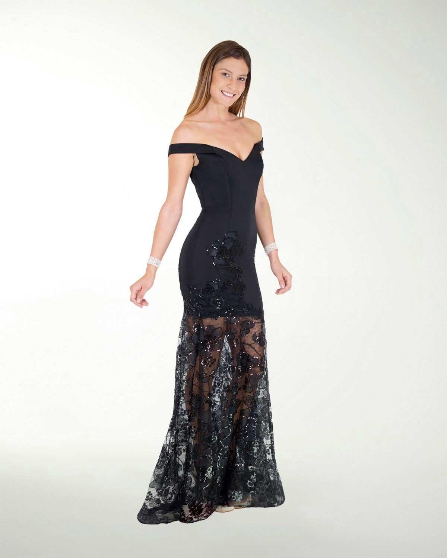Vestido De Fiesta Largo Ranias Corte Sirena Gala Ranias