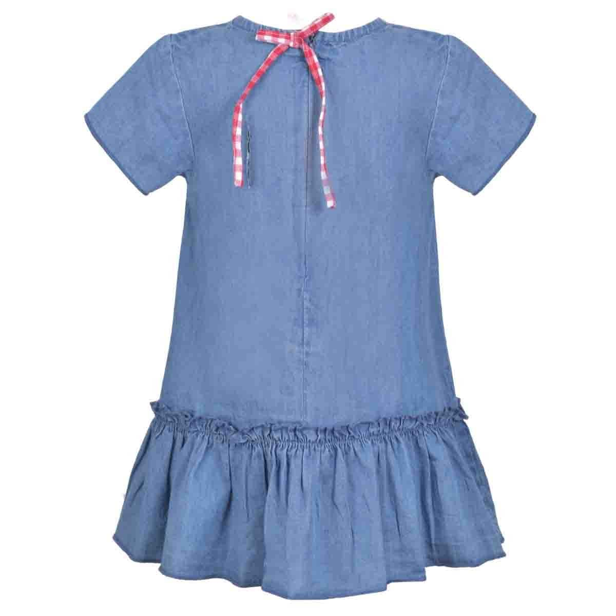 Vestido Mezclilla Panty Rayas Carosello