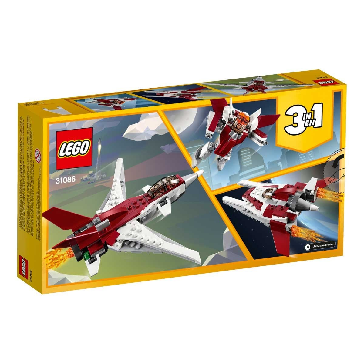 Reactor Futurista Lego