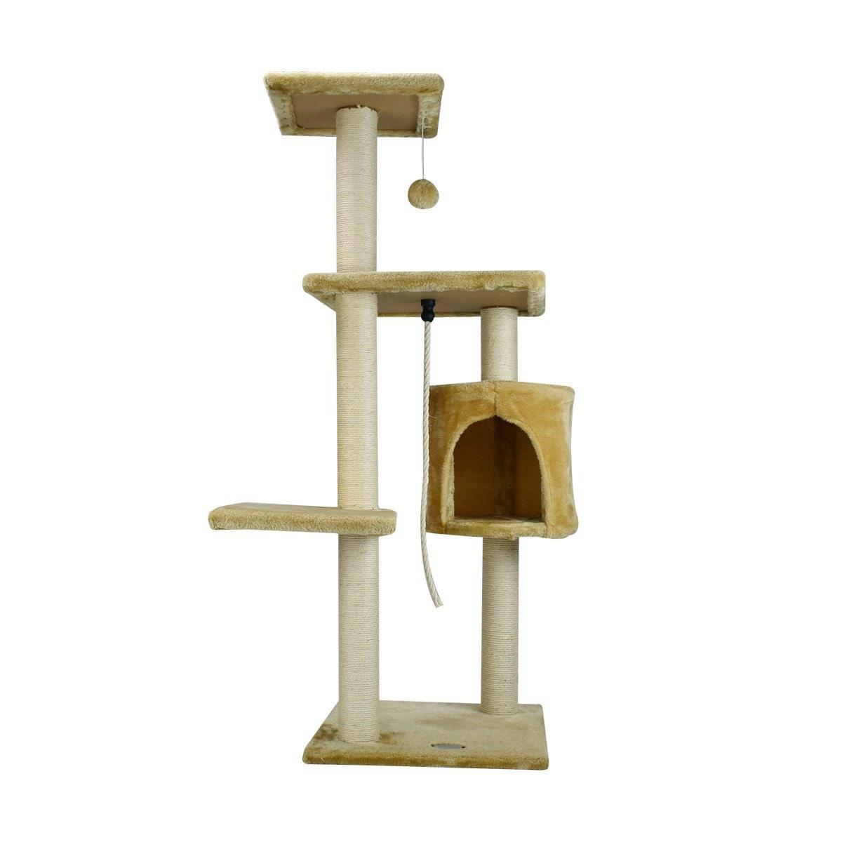 Mueble para Gato C/casa 112Cm Acuario Lomas