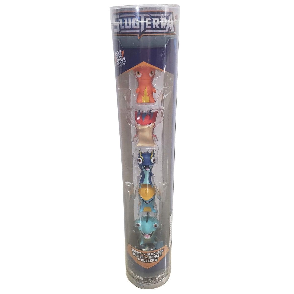 Paquete de 5 Figuras Slugterra Slug  Toy Plus
