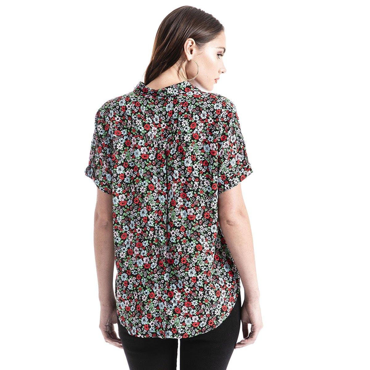 Blusa Sadie Button Back Shirt Levis