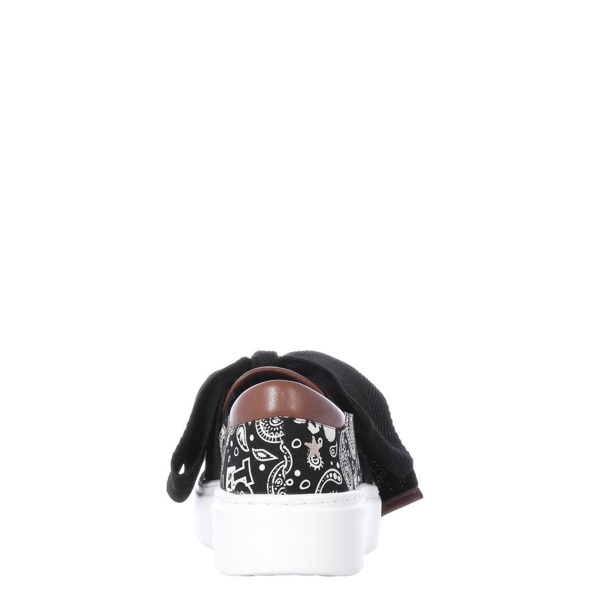 Slip On Textil Negro con Moño Toy Story Disney W Capsule