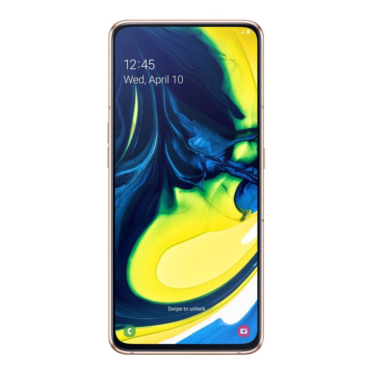 Celular Samsung Galaxy A80 Color Dorado R9 (Telcel)