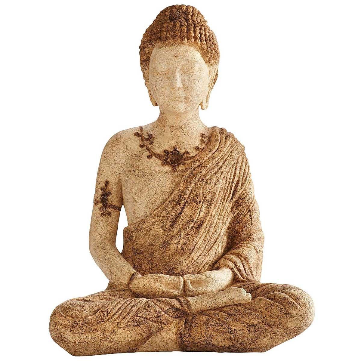 Figura Stone Sitting Buddha Pier 1 Imports