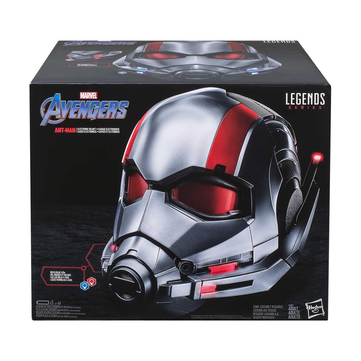 Casco Electrónico Ant-Man Marvel Hasbro