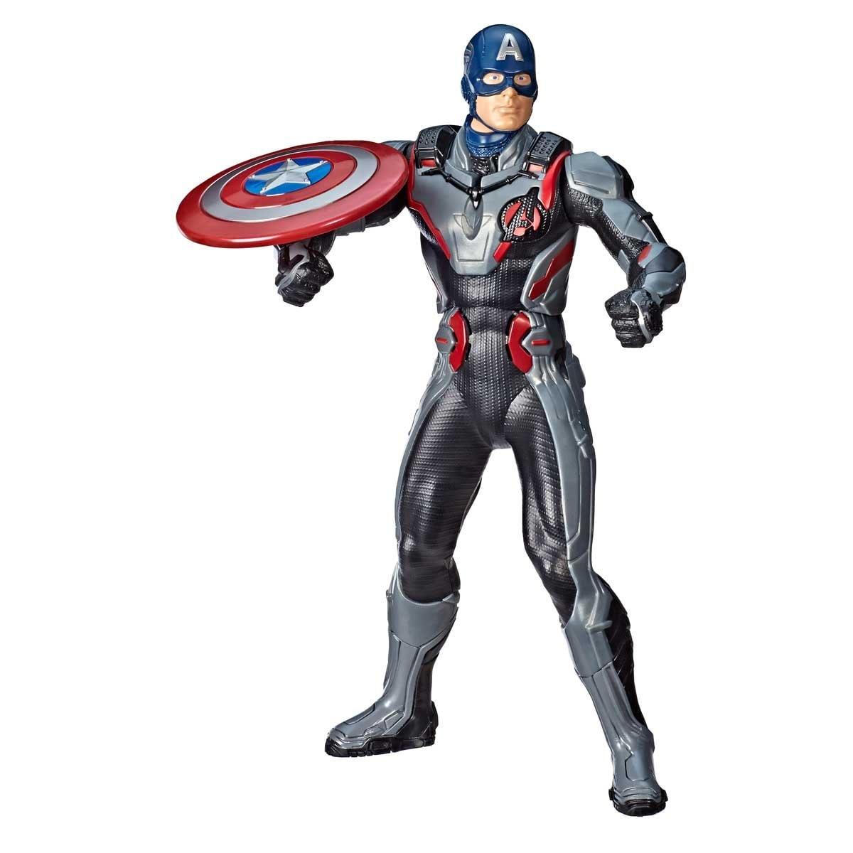Figura de Acción con Efectos Capitán América Hasbro