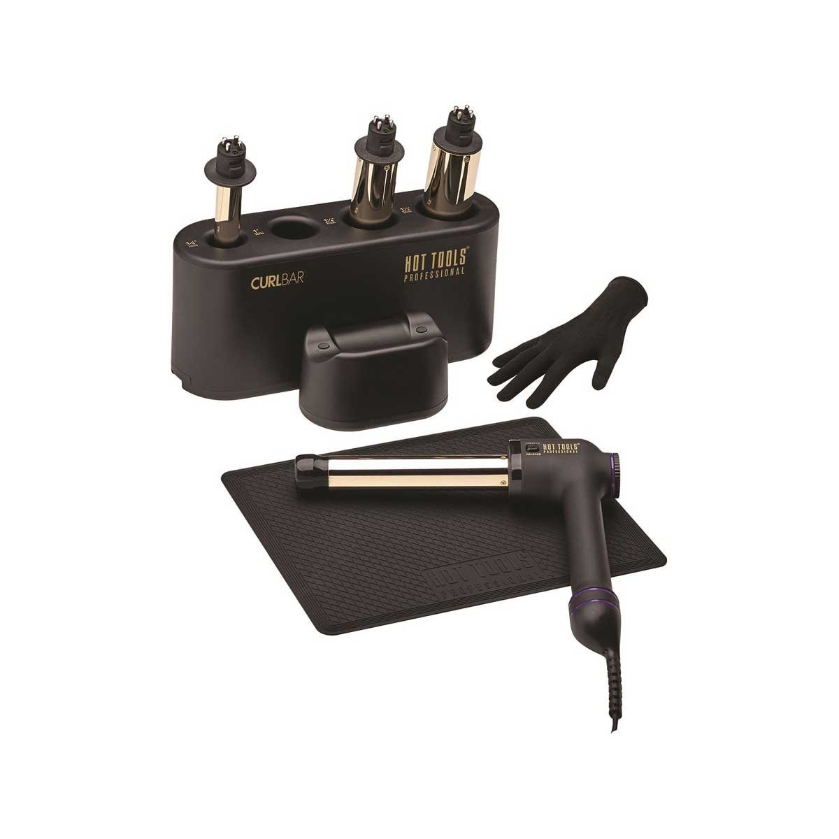 Set con 4 Barriles Intercambiables Hot Tools