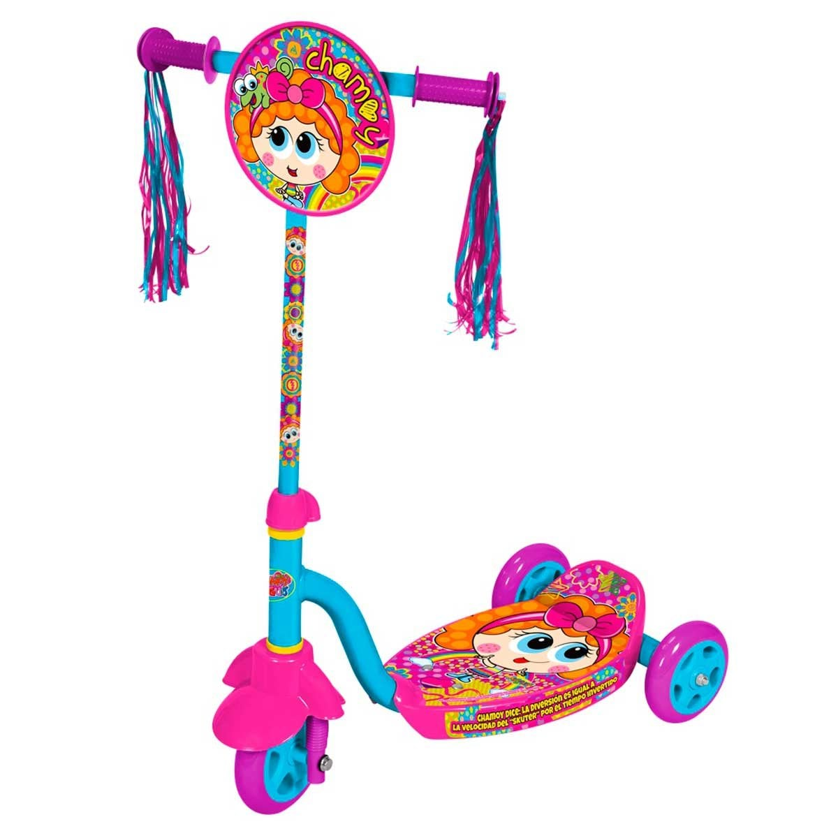 Tri Scooter Distroller Flying Wheel