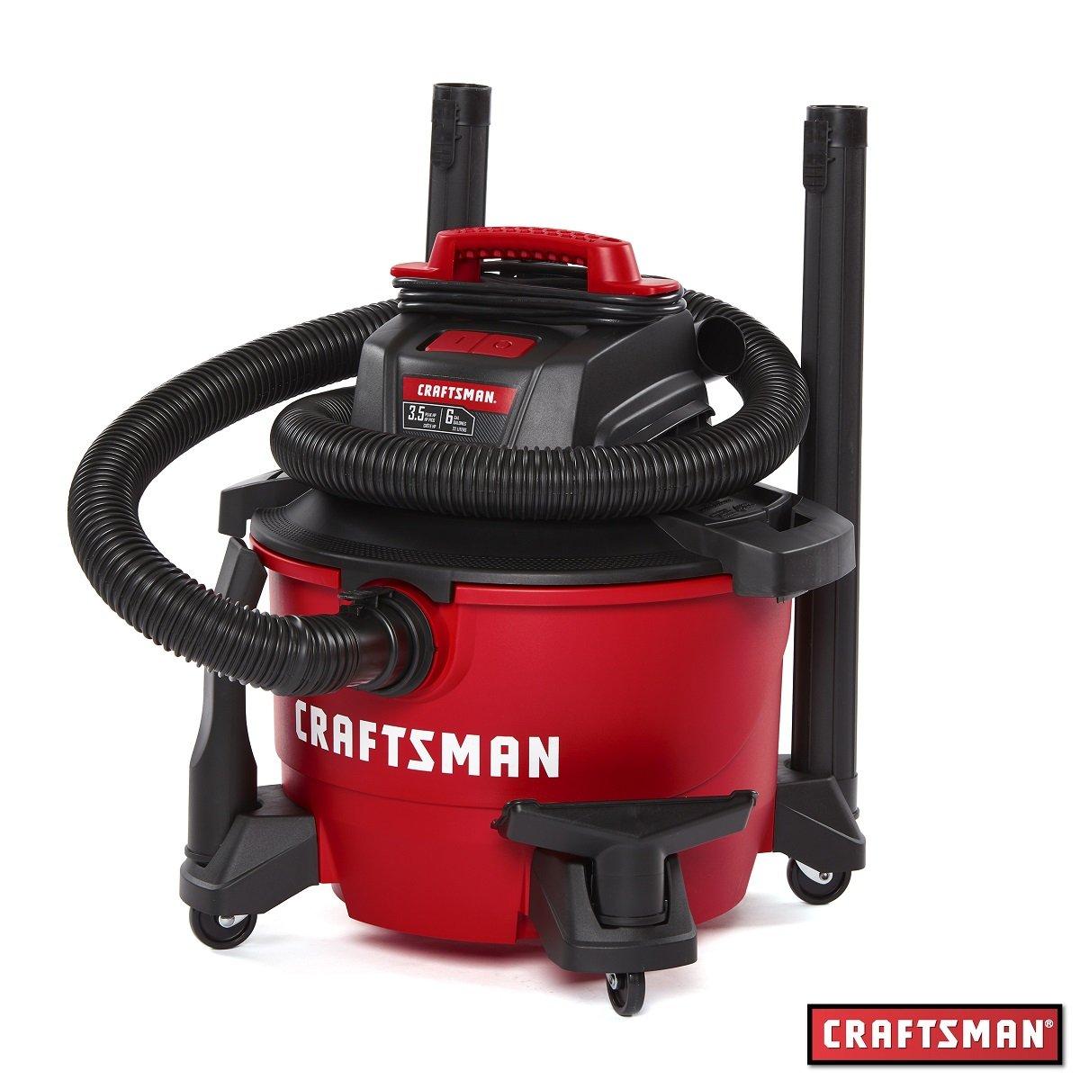 Aspiradora Seco/mojado 6 Galones y 3.5 Hp Craftsman