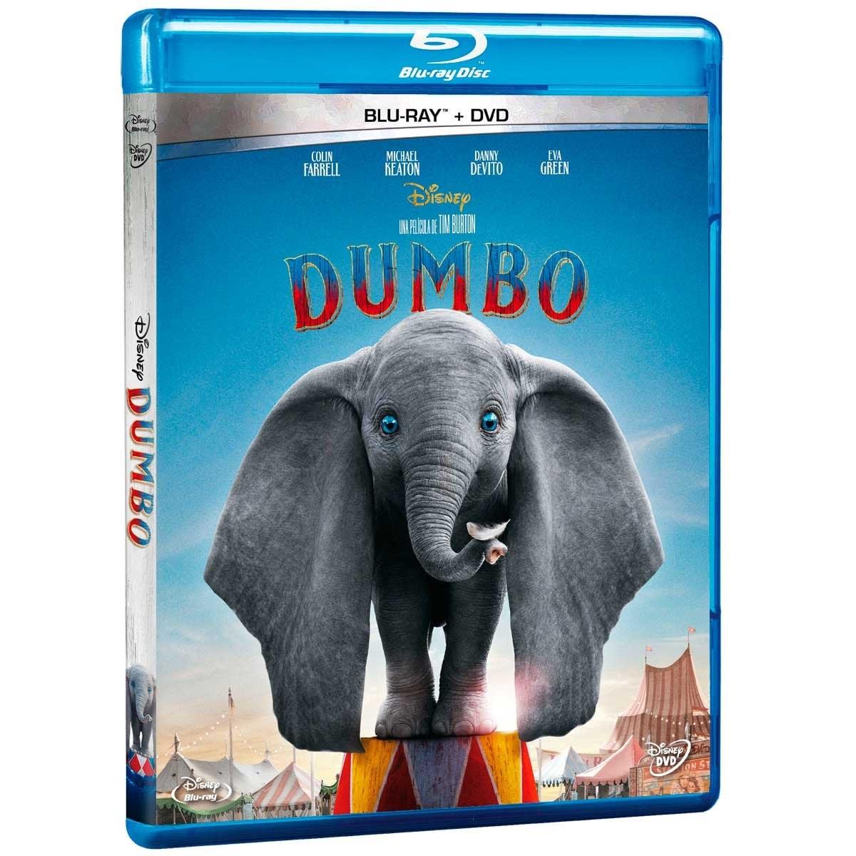 Blu Ray + Dvd Dumbo