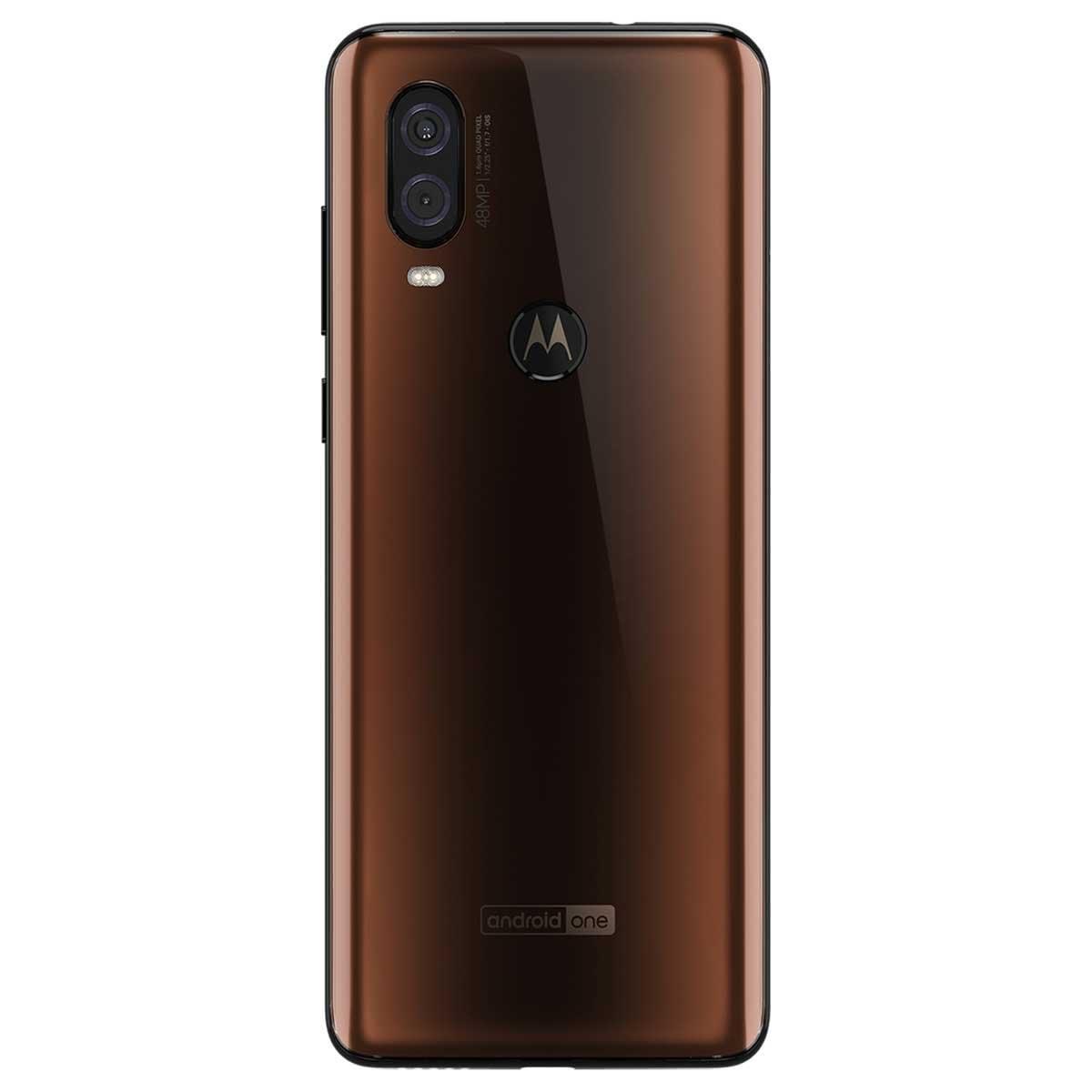 Celular Motorola One Vision Xt1970-2 Color Moka R9 (Telcel)