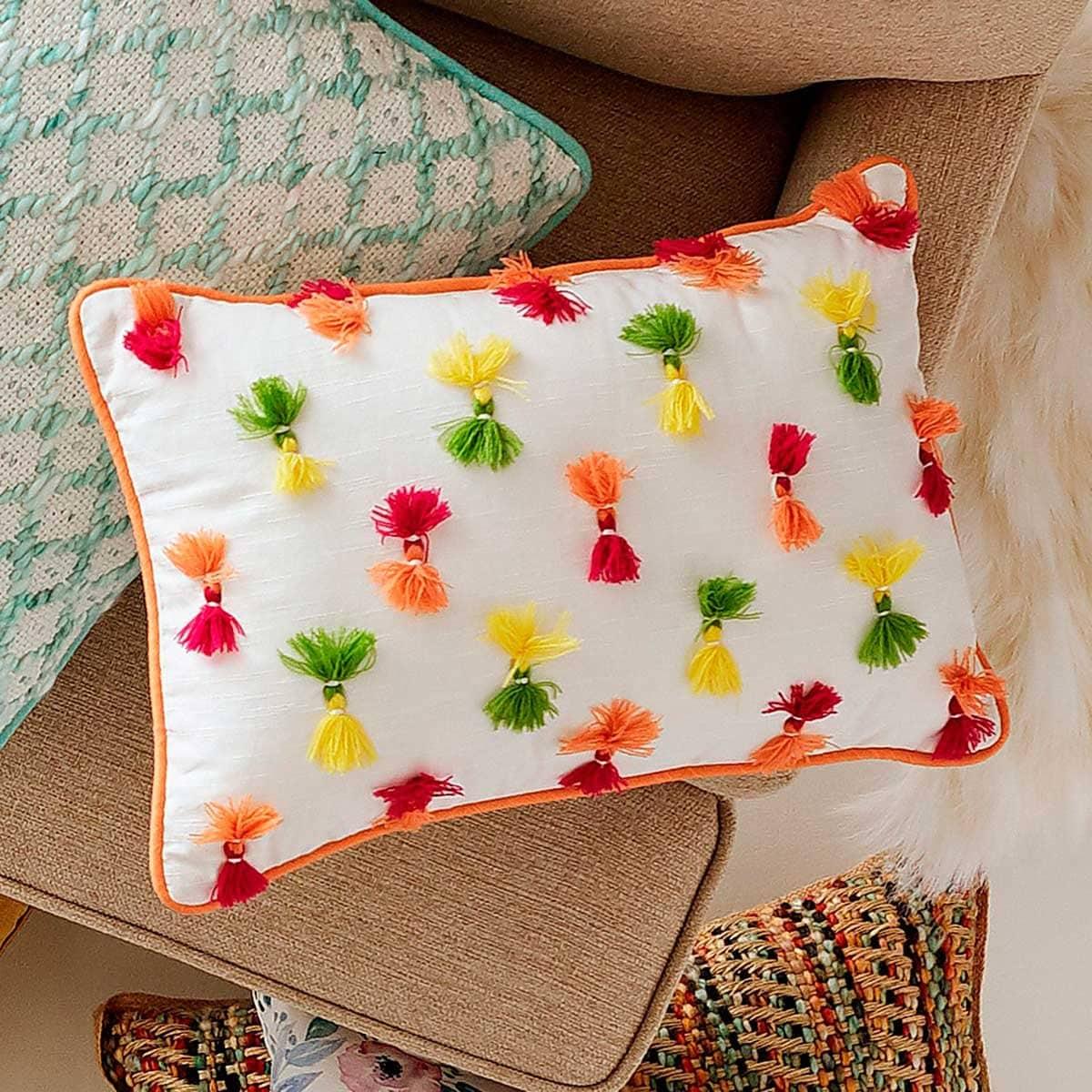 Cojín Lumbar Multicolor Fiesta Lumbar Pier 1 Imports