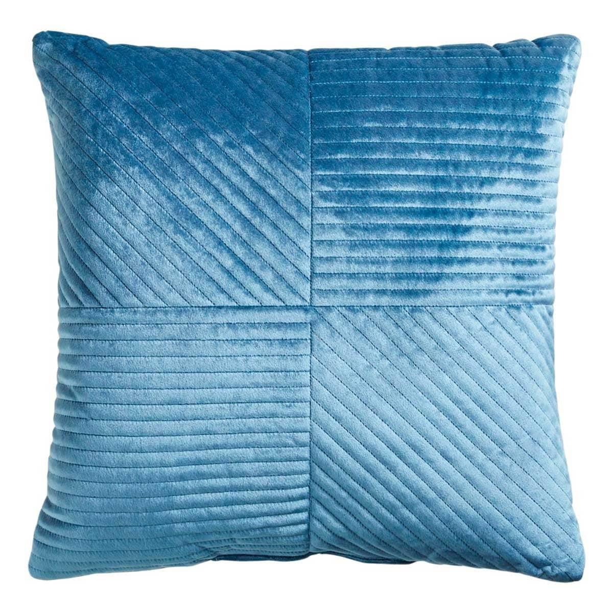 Cojín Mason Quilted Velvet Teal Pier 1 Imports